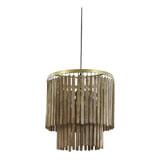 Light & Living Hanglamp 'Gulag' 45cm, kleur Bruin