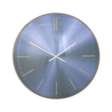 Light & Living Klok 'Peria' Ø65cm, kleur Marineblauw