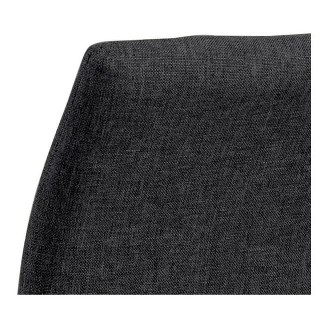 Bendt Barstoel 'Nuna' Stof, kleur Grijs (zithoogte 67cm)