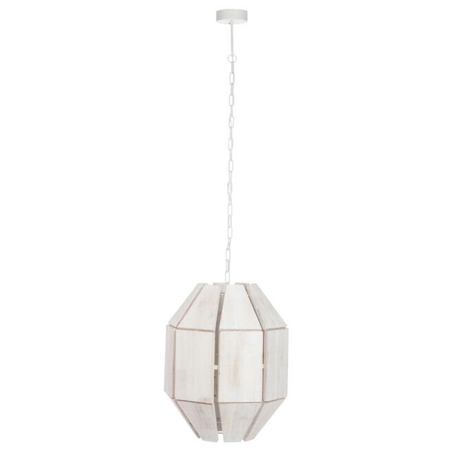 J-Line Hanglamp 'Mathildis' kleur Wit