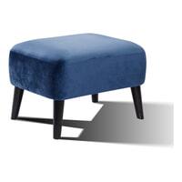 Artistiq Hocker 'Belinda' Velvet, kleur Blauw