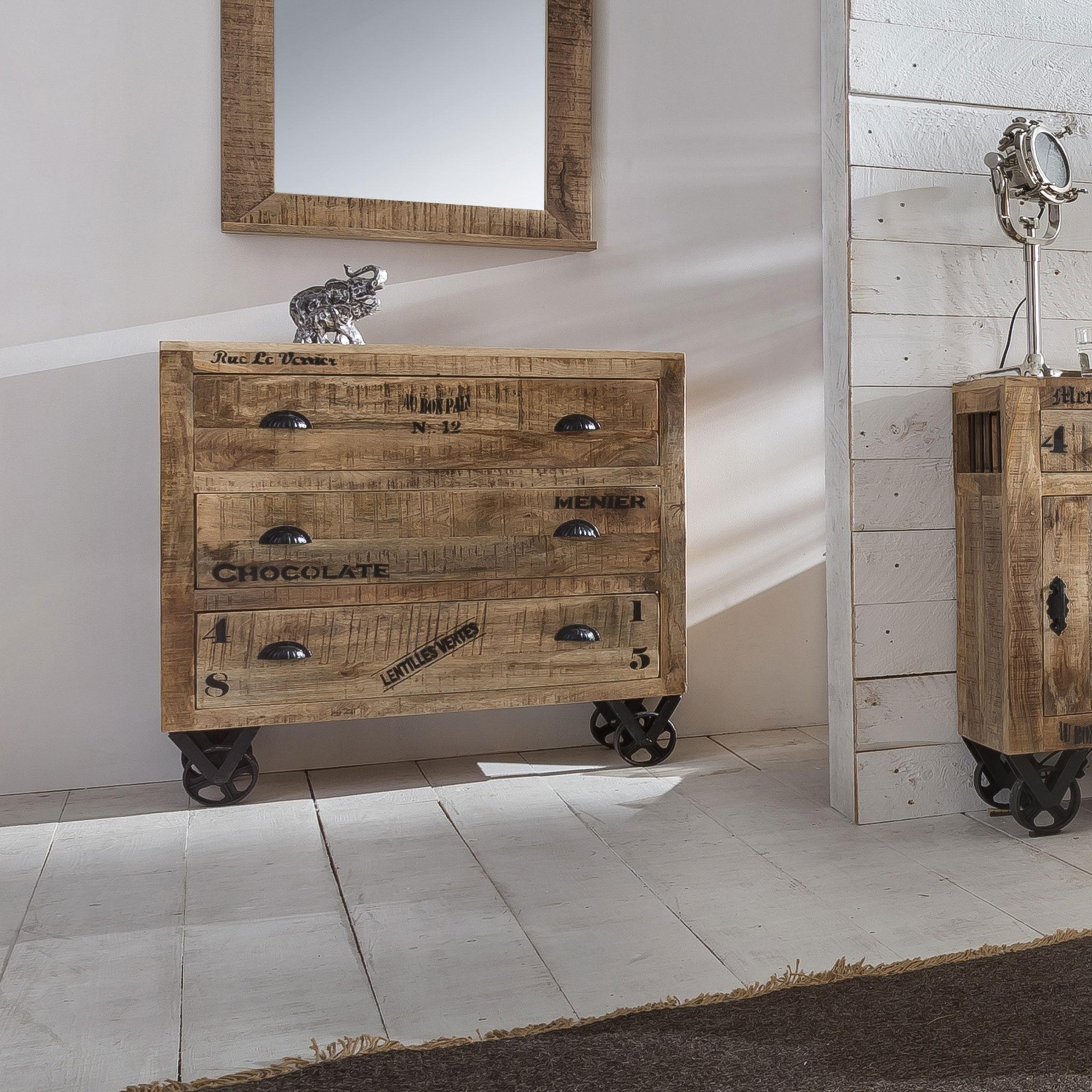 Op Trapstoel: Alles voor de inrichtng van uw woning is alles over meubelen te vinden: waaronder meubelpartner en specifiek Artistiq Dressoir Armin 90cm (Artistiq-Dressoir-Armin-90cm21207)