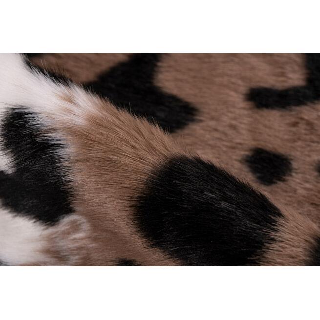 Kayoom Vloerkleed 'Panter' kleur Bruin / Wit, 160 x 230cm