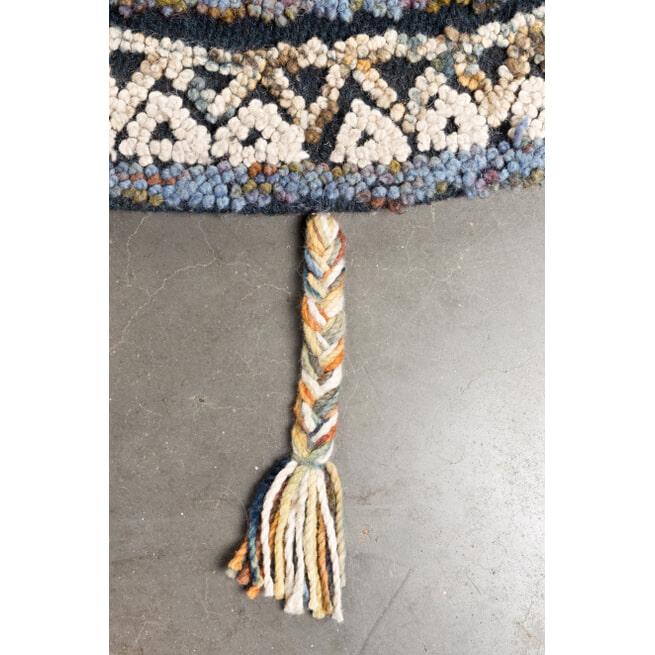 Dutchbone Rond Vloerkleed 'Pix' 170cm