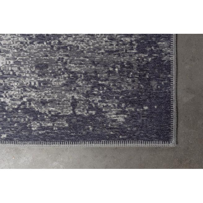 Dutchbone Vloerkleed 'Caruso' kleur Distressed Blue