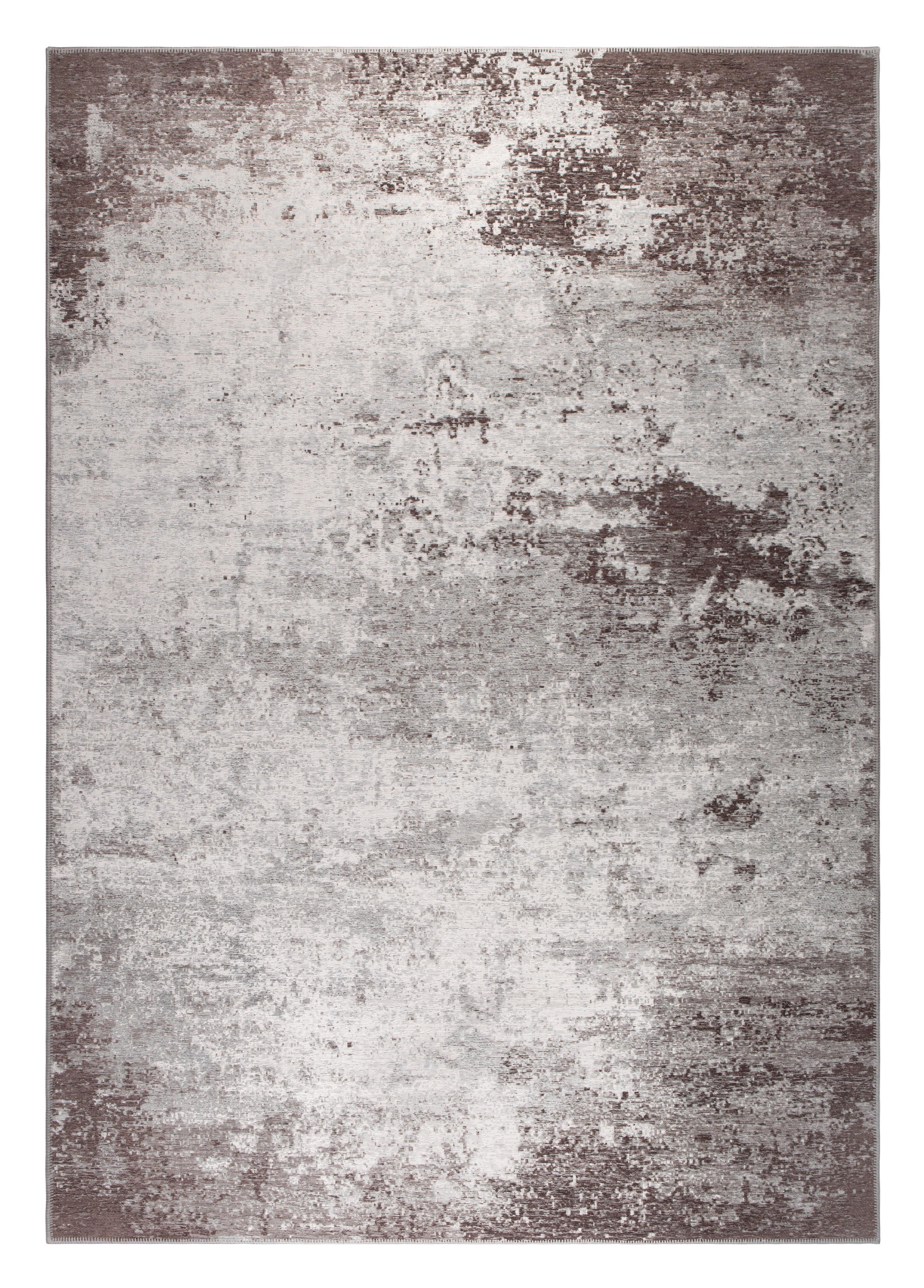 Dutchbone Vloerkleed 'Caruso' 170 x 240cm, kleur Distressed Brown