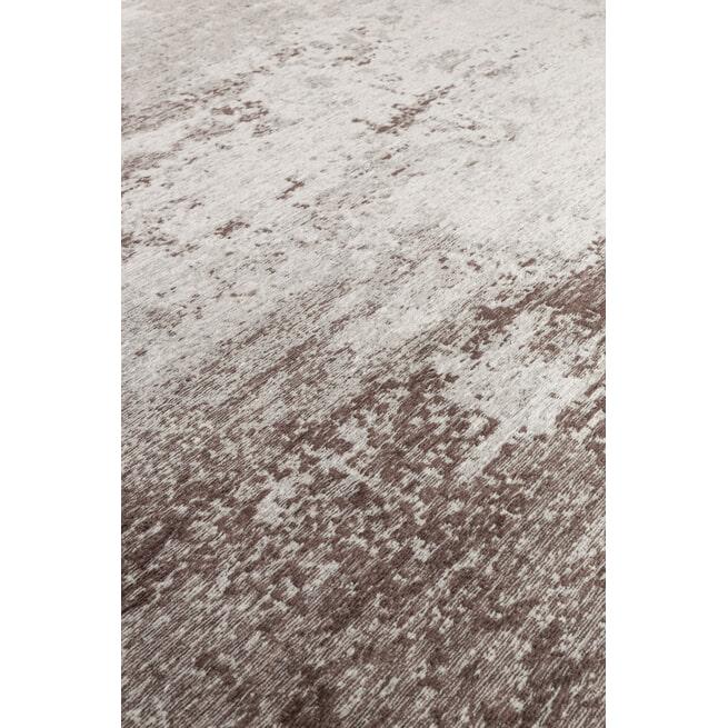 Dutchbone Vloerkleed 'Caruso' kleur Distressed Brown