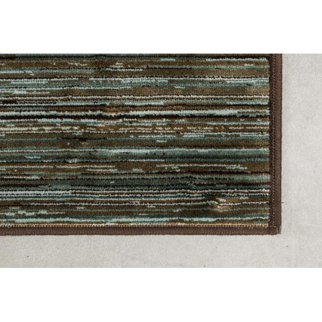 Dutchbone Vloerkleed 'Keklapis' kleur Green