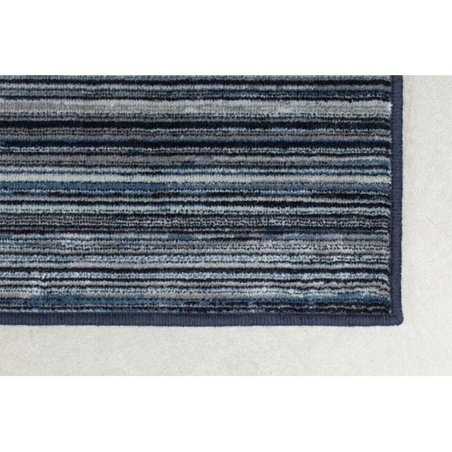 Dutchbone Vloerkleed 'Keklapis' kleur Blue