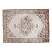Dutchbone Vloerkleed 'Mahal' 200 x 300cm, kleur Pink/Olive
