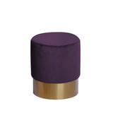 Kayoom Poef 'Nano' 35cm, kleur paars