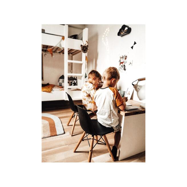 Bopita Stapelbed 'Seppe' 90 x 200cm, kleur wit