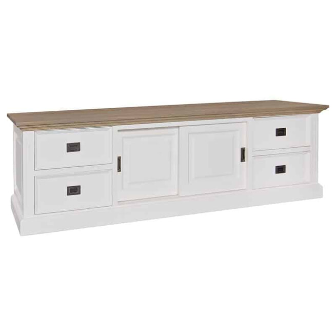 Richmond TV-meubel 'Oakdale' Grenenhout, 200cm