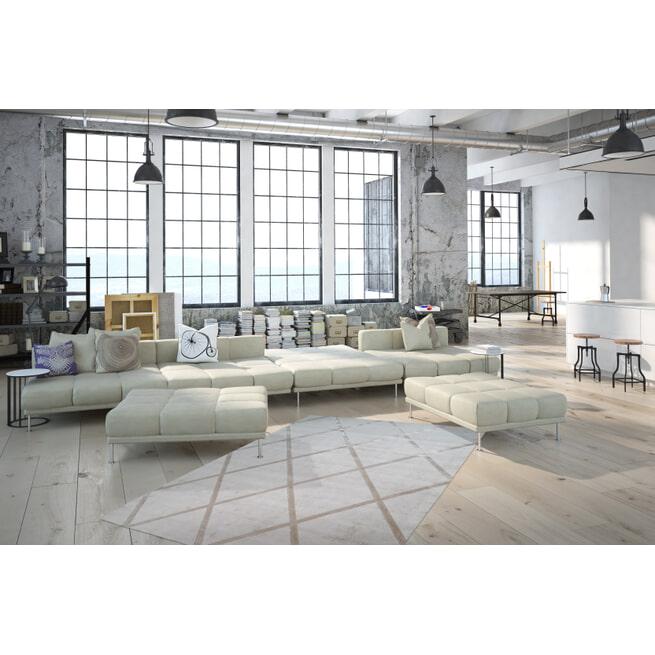 Kayoom Vloerkleed 'Luxury 210' kleur Ivoor / Taupe