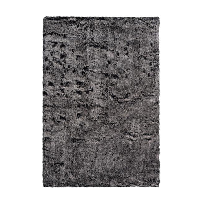 Kayoom Vloerkleed 'Tender 125' kleur Antraciet, 160 x 230cm