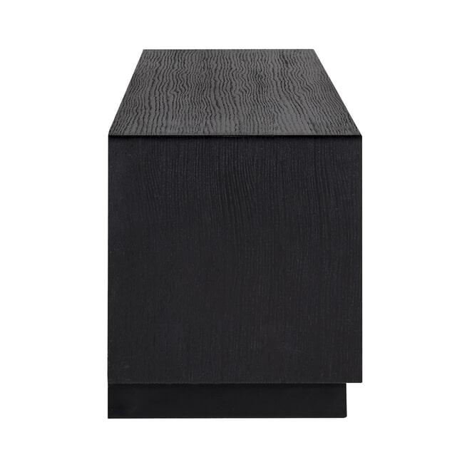 Richmond TV-meubel 'Oakura' Eikenhout, kleur Zwart, 185cm