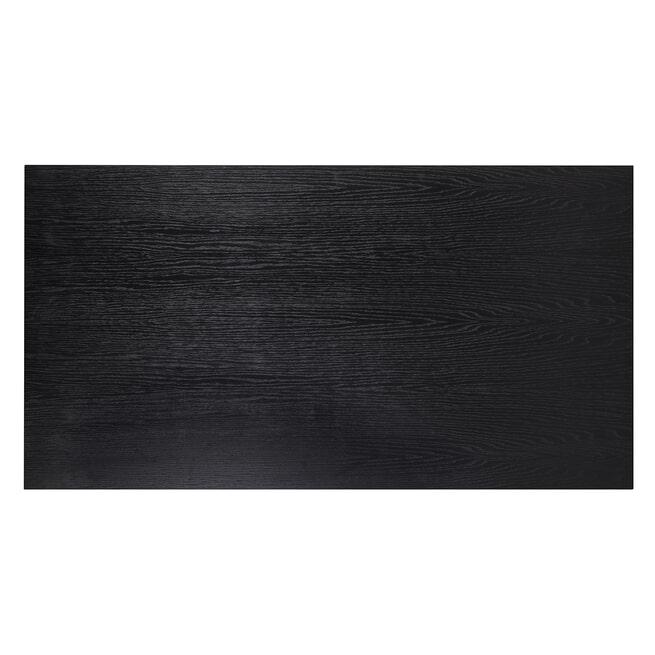 Richmond Salontafel 'Oakura' Eikenhout, kleur Zwart, 150 x 80cm