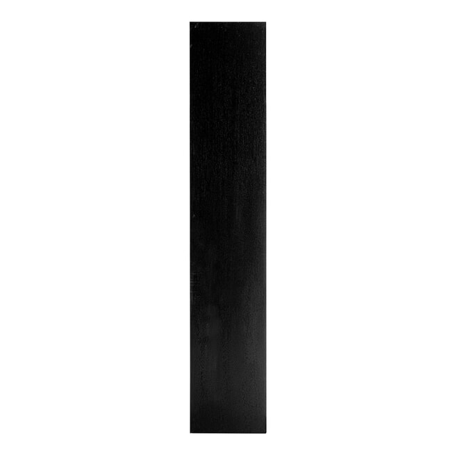 Richmond Boekenkast 'Oakura' Eikenhout, kleur Zwart, 80 x 220cm