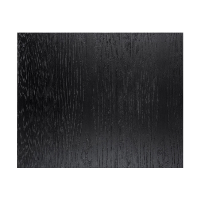Richmond Bijzettafel 'Oakura' Eiken, kleur Zwart