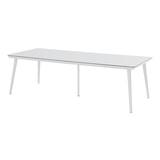 Hartman Tuintafel 'Sophie Studio' HPL, 240 x 100cm, kleur Wit