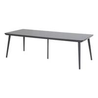 Hartman Tuintafel 'Sophie Studio' HPL, 240 x 100cm, kleur Zwart