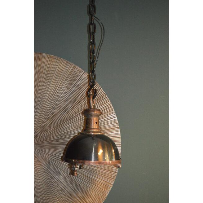 PTMD Hanglamp 'Alu', Aluminium, 38 x 30cm, kleur Zwart