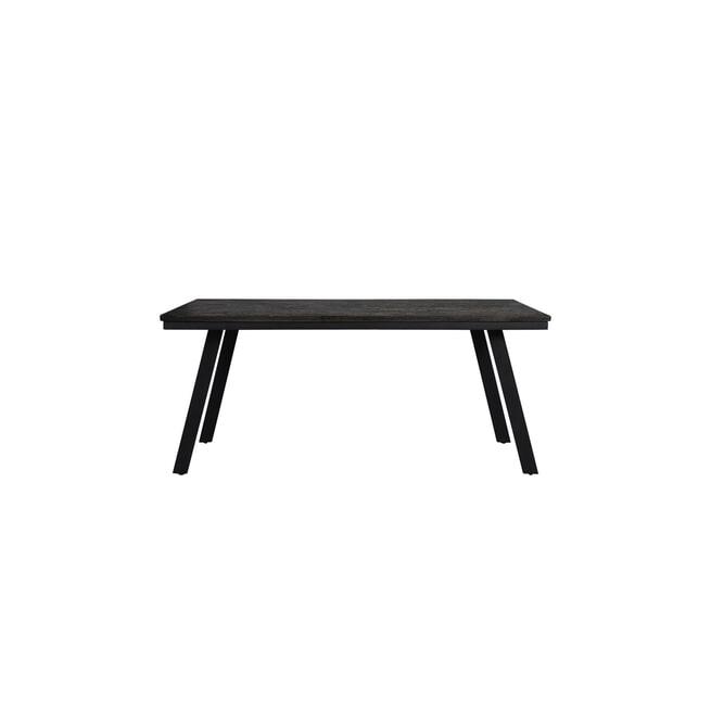 Light & Living Eettafel 'Ceira' 180 x 90cm, mat zwart