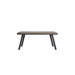 Light & Living Eettafel 'Ceira', grijs-hout oud grijs