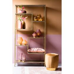 Light & Living Wandkast 'Yvana' 200 x 101cm, kleur Antiek Goud