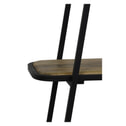Light & Living Stellingkast 'Colavi' 4-Lamps, hout zwart