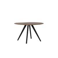 Light & Living Eettafel 'Mimoso', Acaciahout / Zwart, 120cm