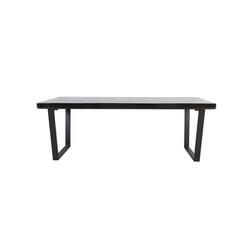 Light & Living Eettafel 'Mayen', glanzend zwart