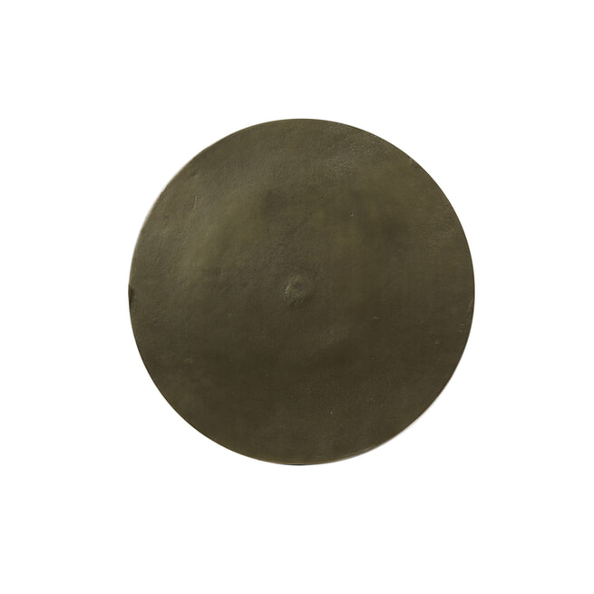 Light & Living Bijzettafel 'Molo' 35cm hoog, kleur Antiek Brons
