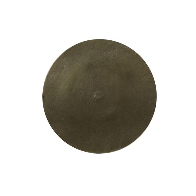 Light & Living Bijzettafel 'Molo', ruw antiek brons