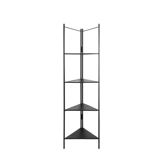 Light & Living Kast 'Display' open, zwart