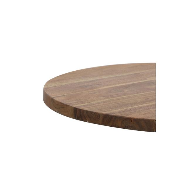 Light & Living Bijzettafel 'Biboca', acacia hout-zwart