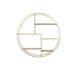 Light & Living Wandkast 'Juna' open, goud