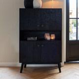Light & Living Opbergkast 'Espita' kleur Zwart