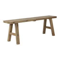 Light & Living Bankje 'Safane' 108cm, hout naturel