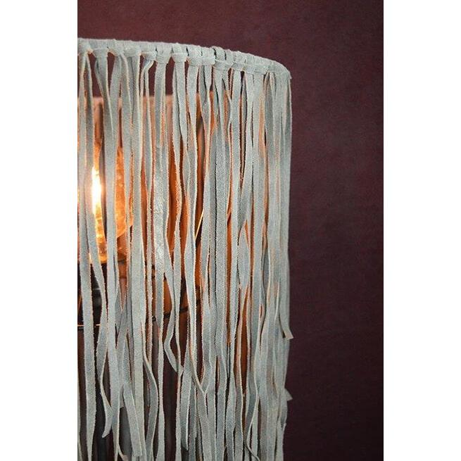 PTMD Lampenkap 'Leather', Leer, 55 x 35cm, kleur Bruin