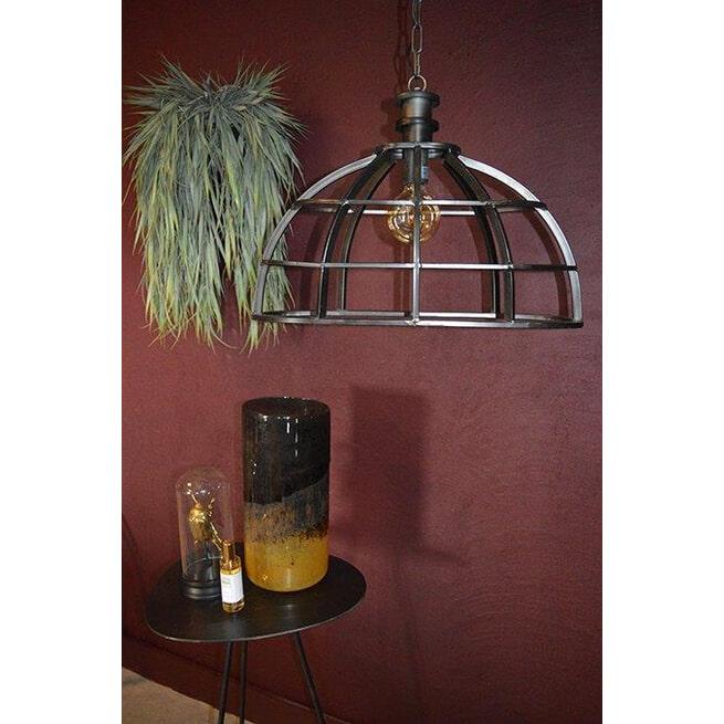 PTMD Hanglamp 'Denver', Metaal, 46 x 60cm, kleur Zwart