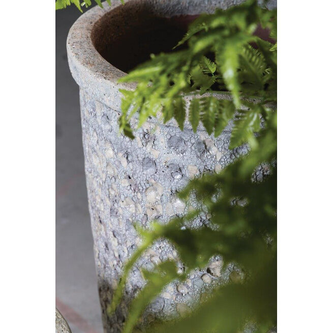 PTMD Pot 'Seco', Keramiek, 30 x 33cm, kleur Wit