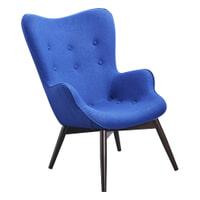 Artistiq Fauteuil 'Irene' kleur Blauw