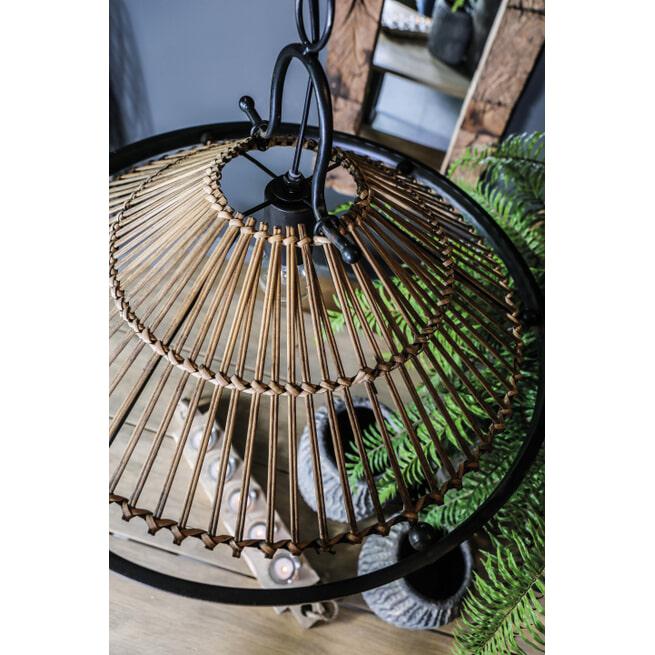 PTMD Hanglamp 'Mambo' Rotan, 53cm