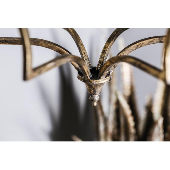 PTMD Hanglamp 'Declan', IJzer, 147 x 36.5 x 32cm, kleur Goud
