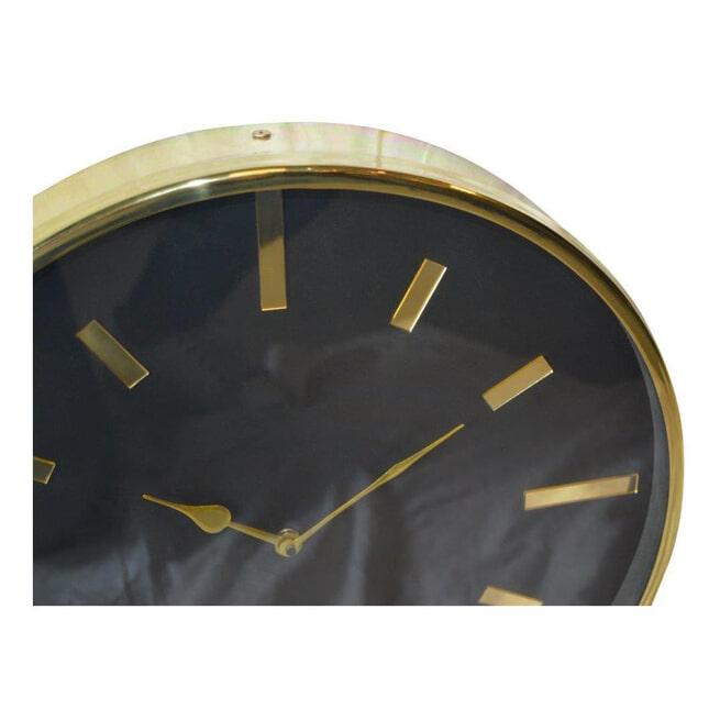 PTMD Klok 'Ricki', Staal, 40cm, kleur Goud