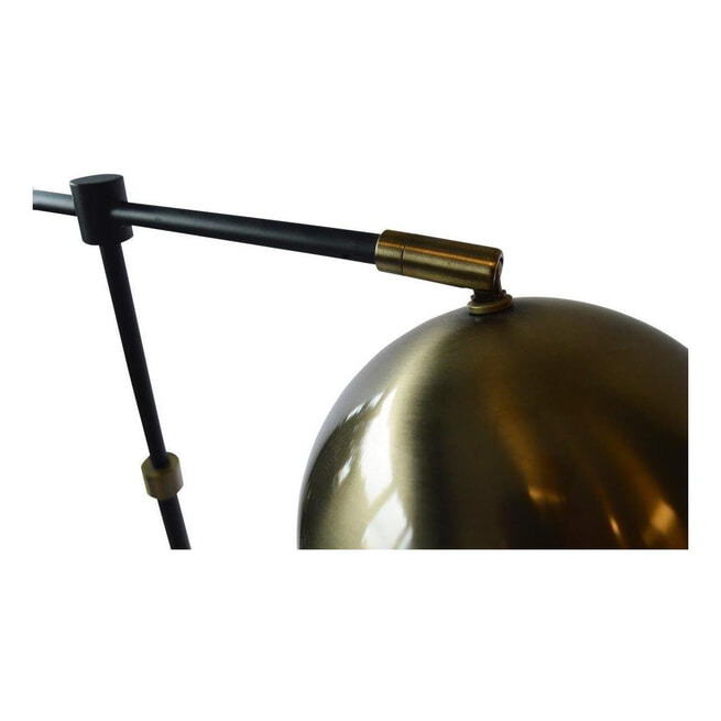 PTMD Tafellamp Jayson Brass messing