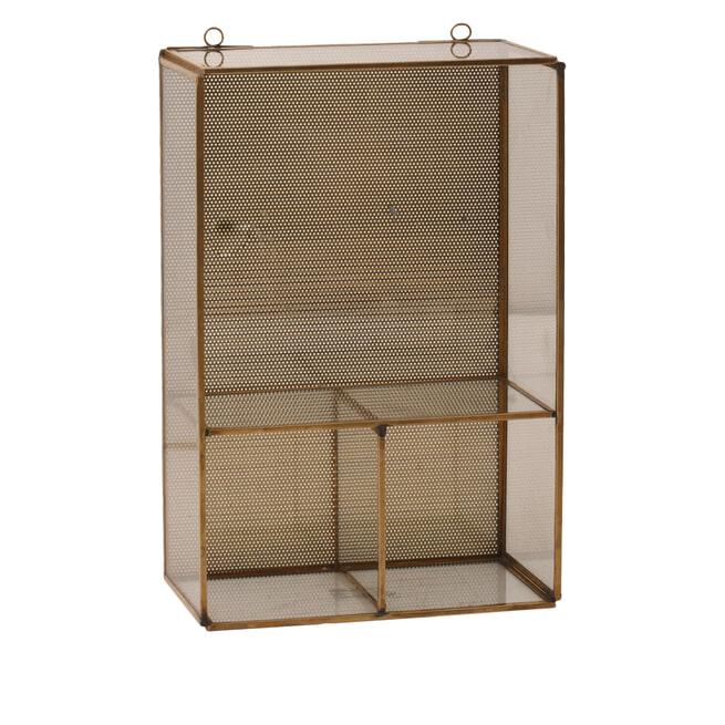 PTMD Wandrek 'Hitz' Brass, 30 x 20.5cm