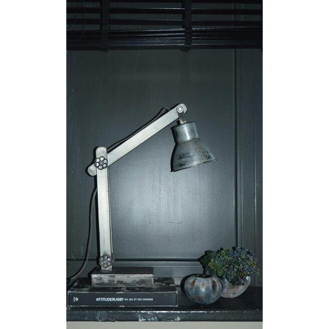 PTMD Bureaulamp 'Sjors' Metaal 62 cm hoog