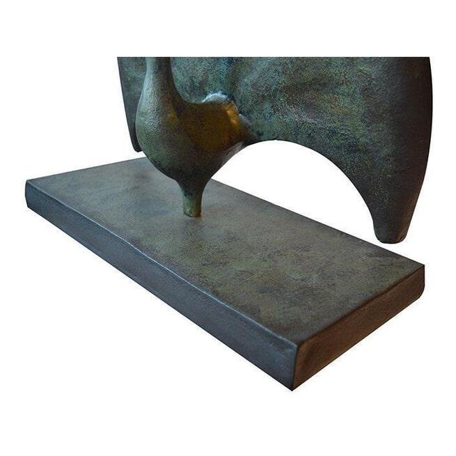PTMD Standbeeld 'Roux', Aluminium, 37 x 18 x 42cm, kleur Brons